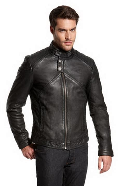 Hugo Boss Leather Jackets For Men 2012   for life and style