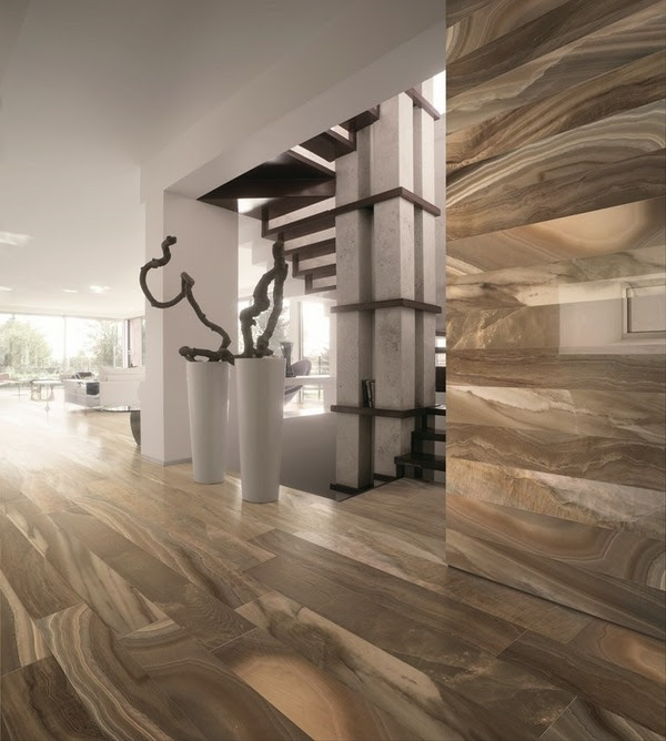 Porcelain tile flooring - modern and durable home flooring ...