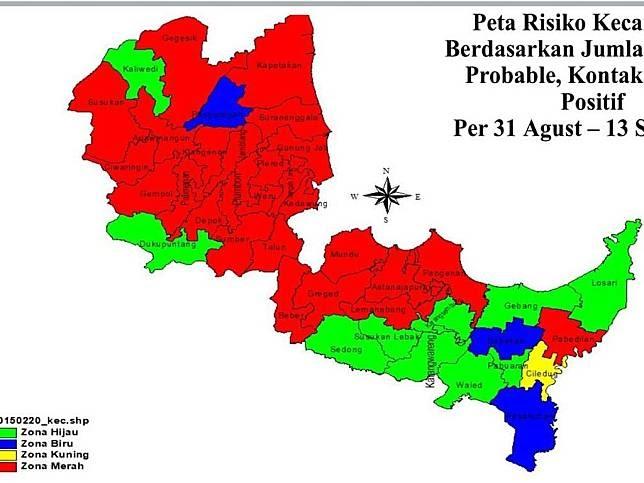 Peta Kecamatan Pangenan Kaupaten Cirebon / Gambar peta ...
