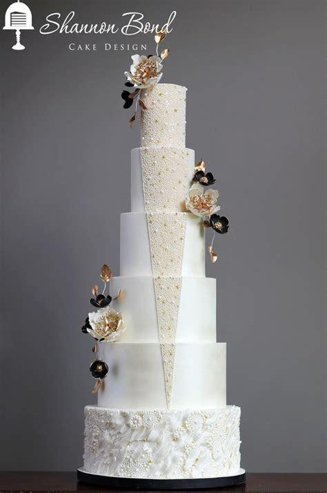 Gatsby Wedding Cake   CakeCentral.com