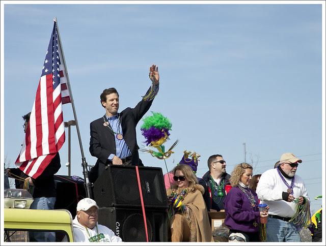Mardi Gras Parade 2012-02-18 71 (Congressman Russ Carnahan)