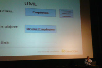 Bruno Bossola's UML Crash Course: Class, Object, Link ;-)