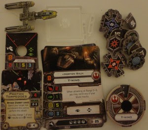Star Wars X-Wing Miniatures Game Y-Wing Expansion