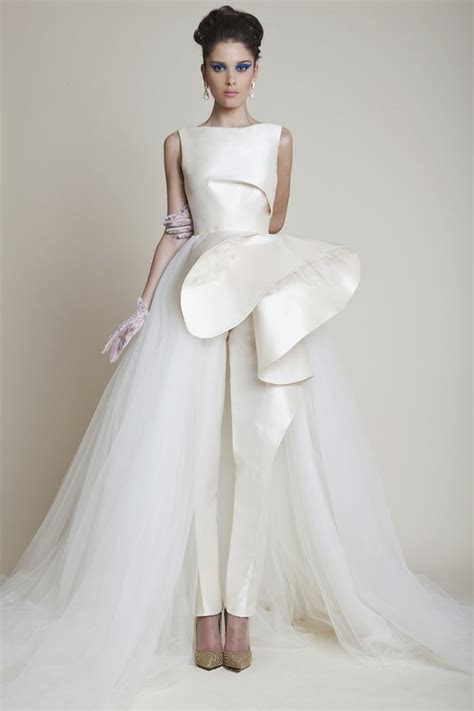 bridal fashion trend  bridal jumpsuit arabia weddings