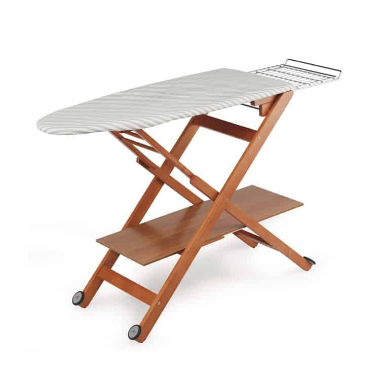 Ironing Boards Deluxe Wooden Mobile Ironing Boards Laundry Shoppe