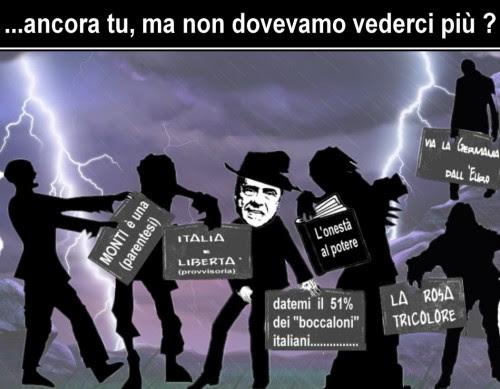 satira,attualità,berlusconi,l'onestà al potere,italia e libertà,