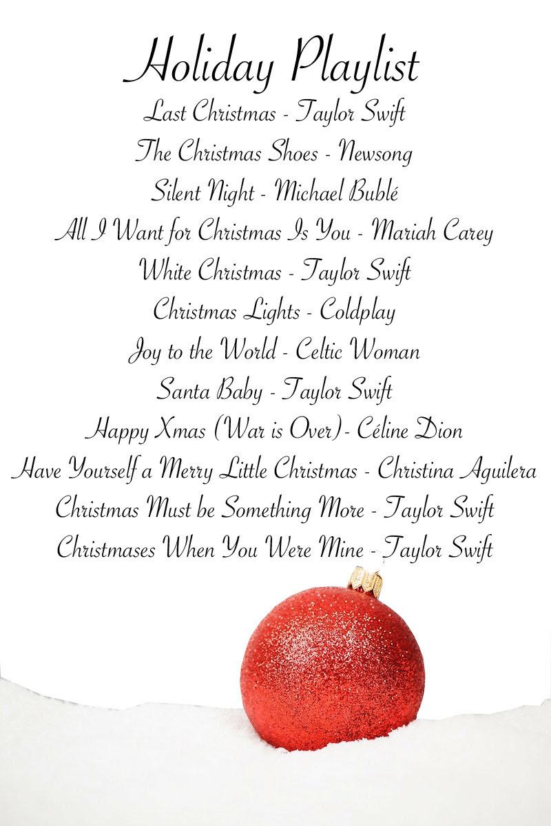 christmas playlist2