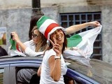 supportrices victoire Algérie  Coupe du Monde 2014