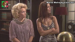 Marta Melro sensual na novela Remedio Santo