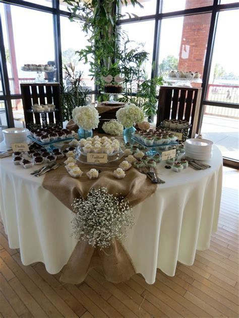 Rustic dessert table, Vintage, Shabby Chic, Wedding