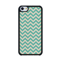 Trendy Chevron Carved iPhone 5C Slim Wood Case Carved® Maple iPhone 5C Slim Case