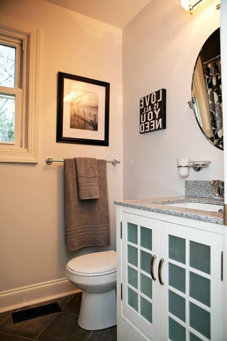 45 Good Small Bathroom Design Examples