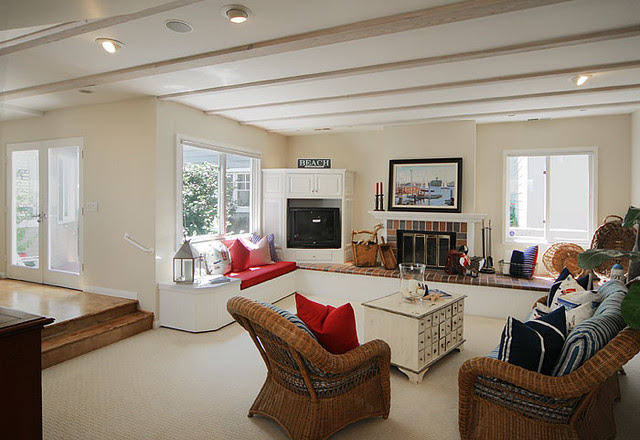 Dinettes and Stools: Country Style Living Room | Flickr - Photo ...