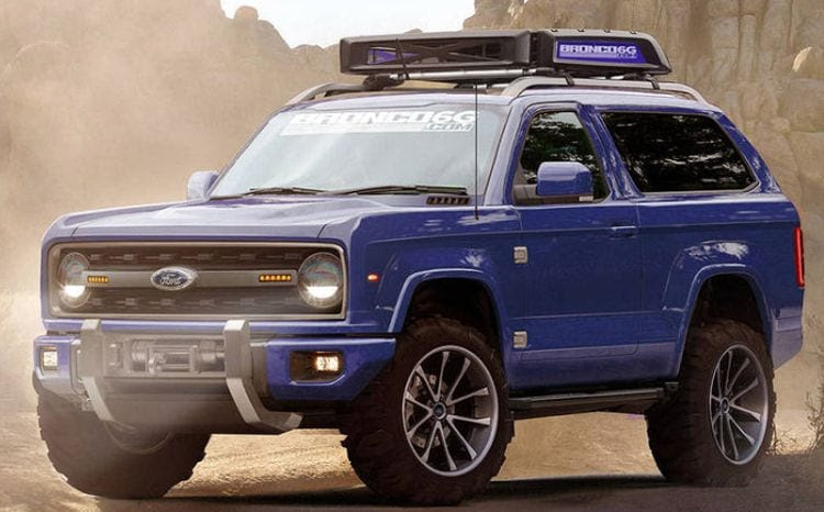 2020 Ford Bronco Release  Details, News, Photos Review