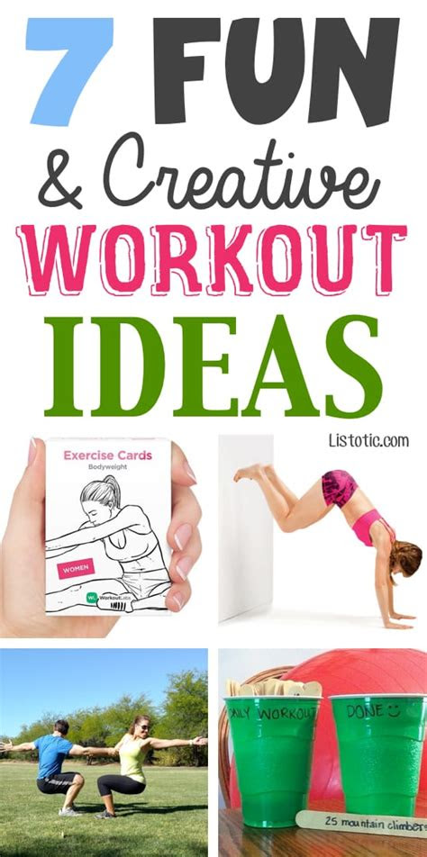 bored   workout routine heres   fun ideas