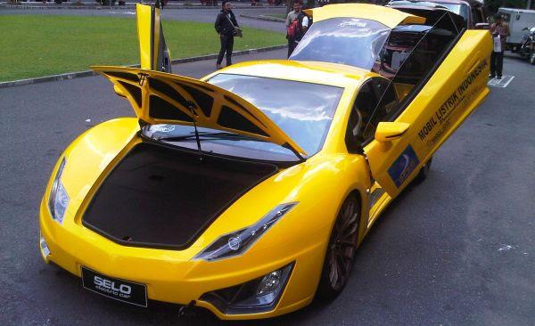 Mobil listrik buatan Indonesia. (foto: Okezone).