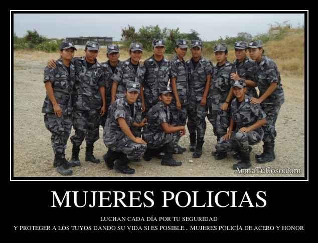 Mujeres Policias