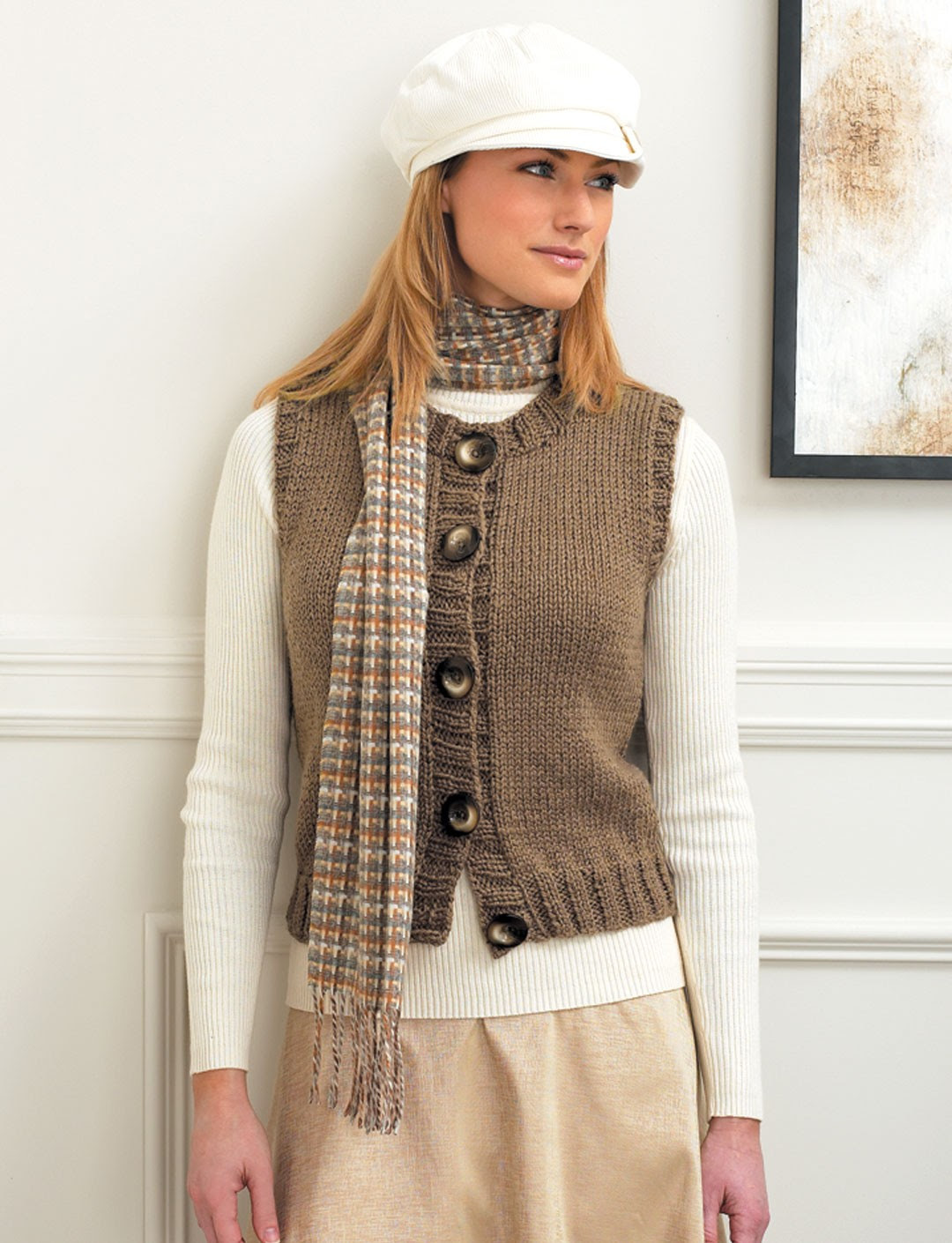 Online for women full women patterns free knitted vest free plus size canada