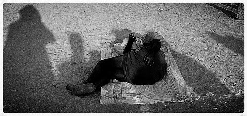 Shadow Boxed Sleep... by firoze shakir photographerno1