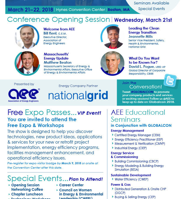 Globalcon Boston Ma Expo Marketing And Flyer Design For Aee Atlanta