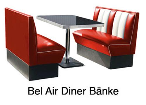 american diner bistro m bel sitzbank hocker tisch stehtisch bank american dinner mobel blog. Black Bedroom Furniture Sets. Home Design Ideas