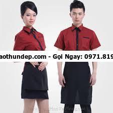 mẫu đồng phục quán cafe