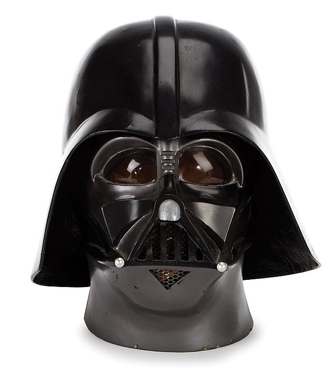 "Star Wars: Episode V - The Empire Strikes Back prototype ""Darth Vader"" helmet."