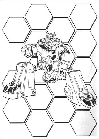 Disegno Di Ranger Transformer Da Colorare Disegni Da Colorare E