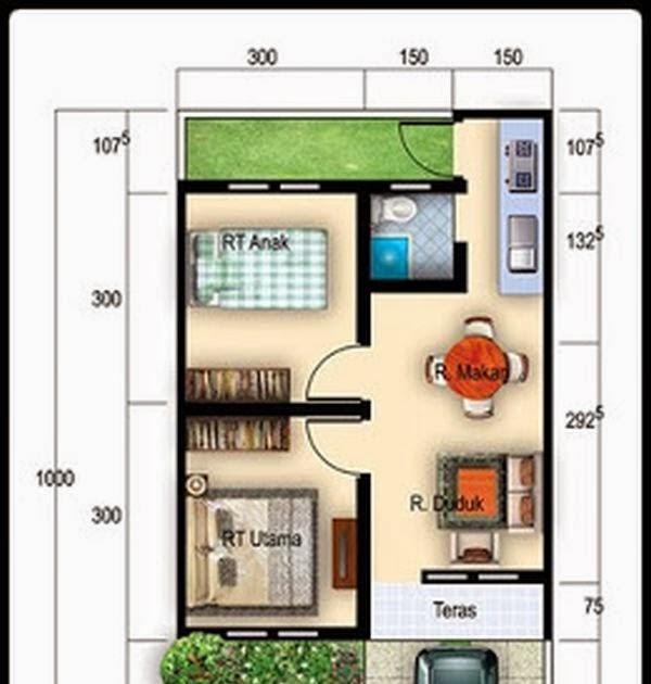 Desain Tata Ruang Rumah Minimalis Type 36 - Berbagai Ruang