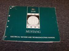 1998 Ford Mustang Electrical Wiring & Vacuum Diagram ...