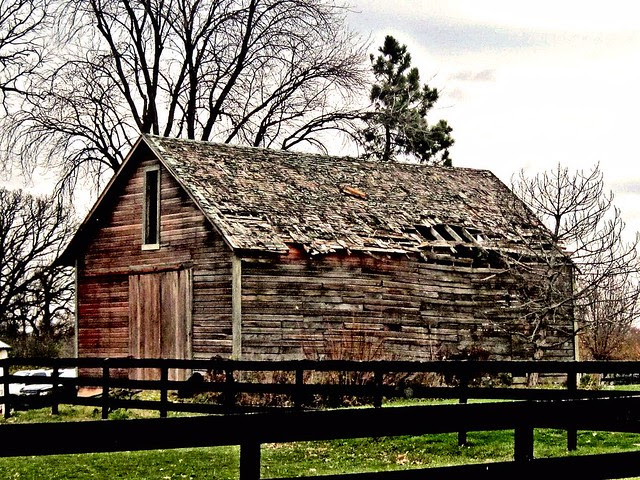 Old Barn HDR 20121111