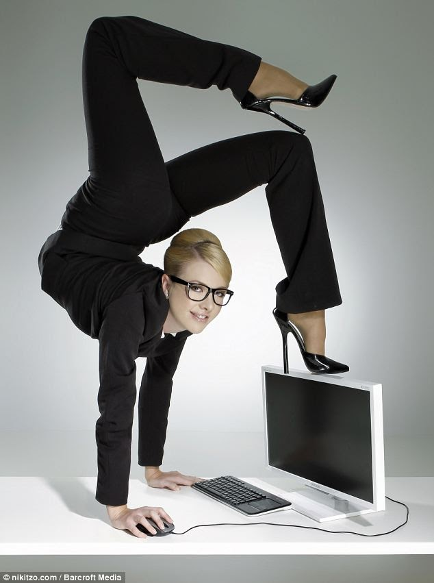 January Contortionist Julia Gunthel Also Known As Zlata Has Released A Calendar Showing