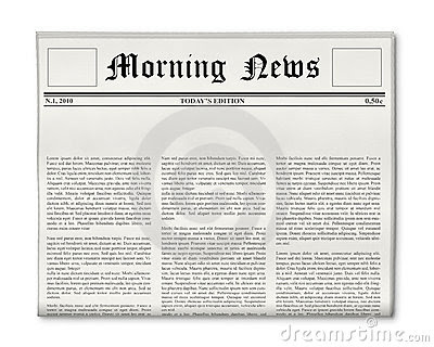 Newspaper Front Page Stock Photos, Images, & Pictures - 1,031 Images