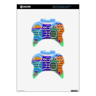 City Art on xBox 360 Controller Skin