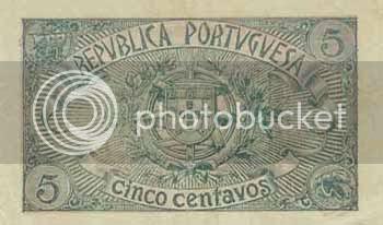 Verso da nota de 5 centavos de 1918 - Image hosted by Photobucket.com
