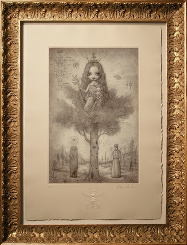Mark Ryden Tree Of Life Limited Edition Etching Lowbrow Lowbrow