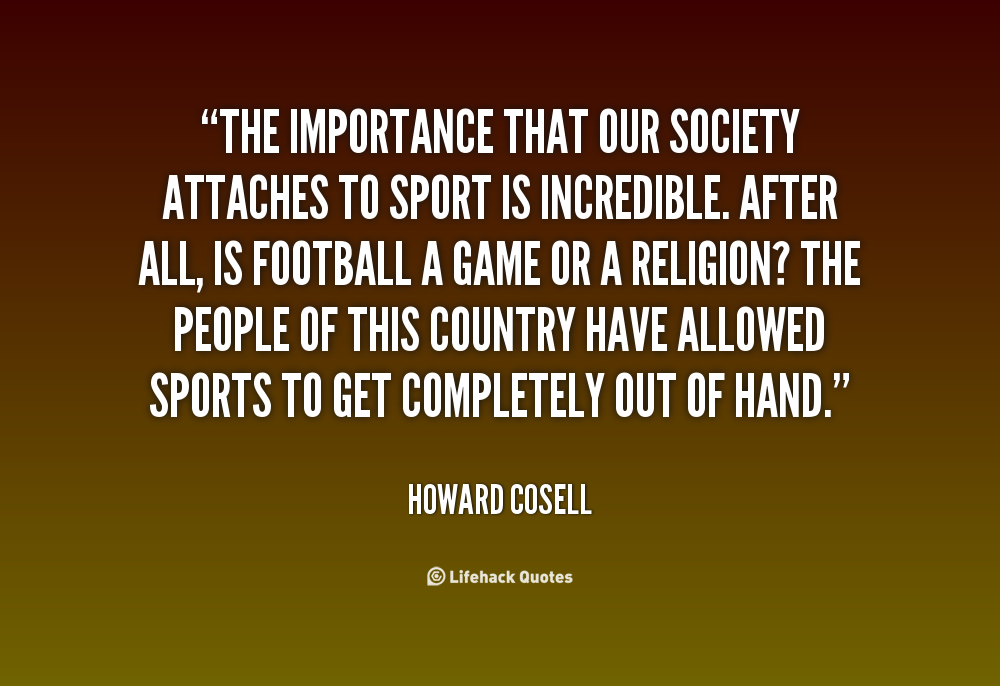 Image result for Howard Cosell Quotes