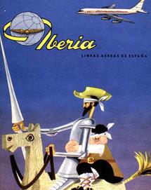Publicidad de Iberia en 1960
