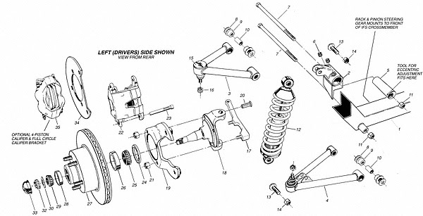 2008 Chevy Tahoe Front Suspension Diagram