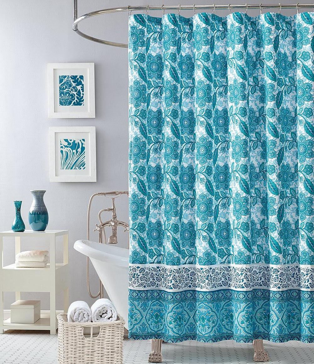 Blue Shower Curtains - Choosing the Best Color Option ...