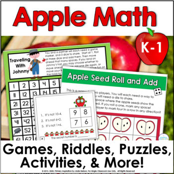 Apple Games with Number Frames