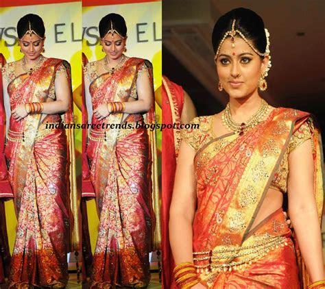 Latest Traditional And Designer Sarees Sneha Bridal Pattu