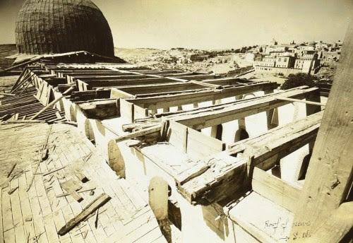 Al Aqsa rafters