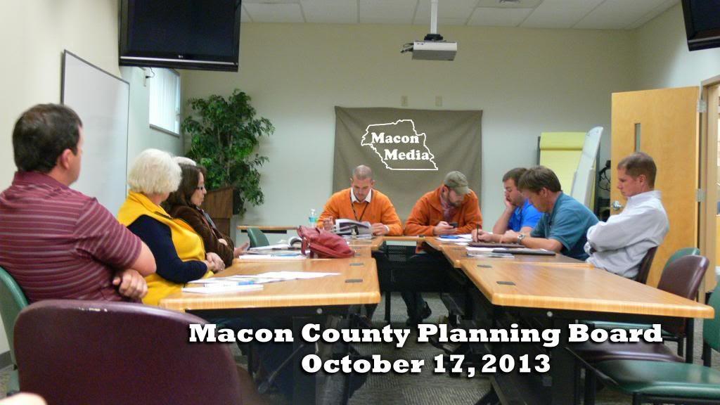 October 2013 Planning Board