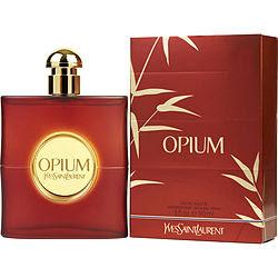 Opium Eau De Toilette Spray 3 oz (New Packaging) by Yves Saint Laurent