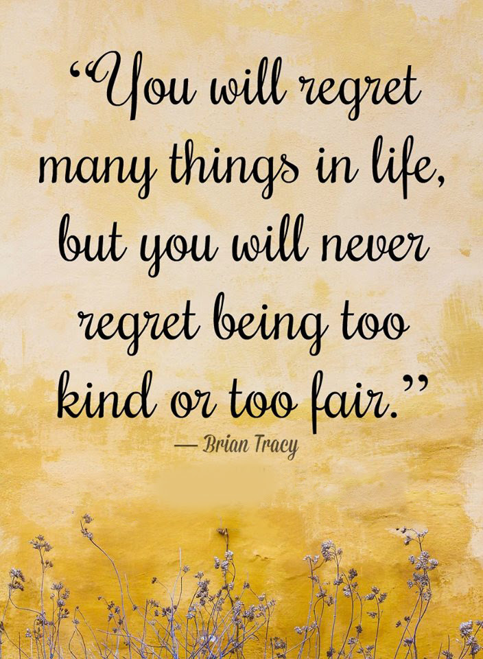 You Will Regret Quotes Area