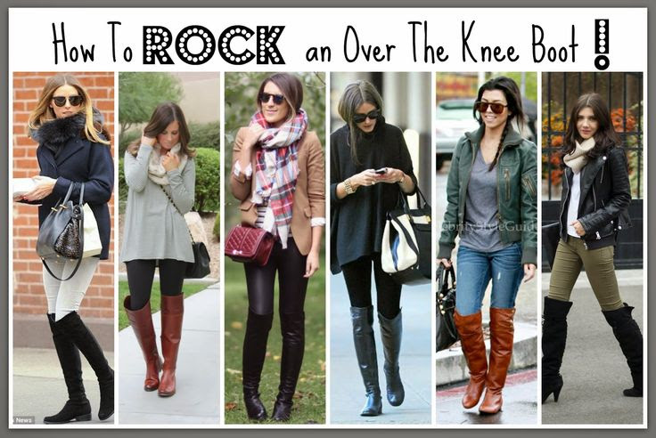 The Case for Over-the-Knee Boots: tips and tricks for how to pull them off!