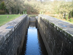 Double lock on the Nantes Brest canal
