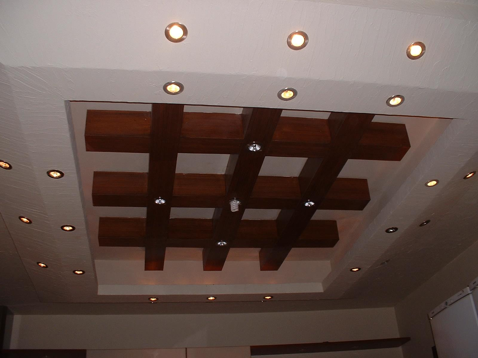 Weathergram Get 30 Wood Design False Ceiling