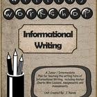 Writing an Informational Report - A Writing Workshop Unit